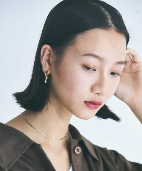DESIGN CIRCLE EARCLIPS / デザインサークルイヤリング